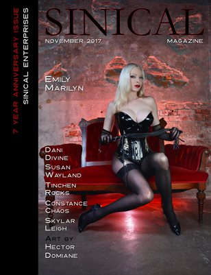Sinical November 2017 - Emily Marilyn cover edition