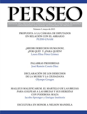 REVISTA PERSEO número 3 Mayo de 2013