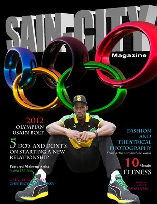 Sain-City Magazine Olympic Edition