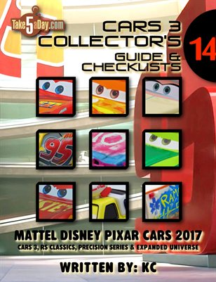 CARS 3 2017 CARS Yearbook: Complete Visual Checklist & Guide