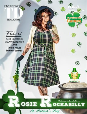 The Definition: Rosie Rockabilly St. Patrick Day-Vol3 cover3