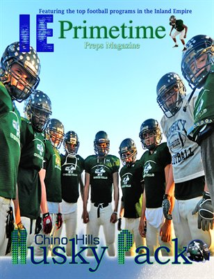 Inland Empire Prime Time Preps Magazine Chino Hills Football Edition April 2012