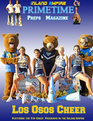 Inland Empire Prime Time Preps Magazine Los Osos Cheer Edition April 2012
