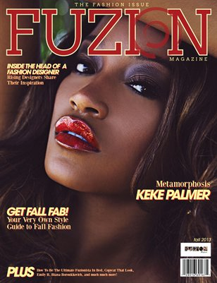 Fuzion Magazine Fall 2013 Fashion Issue
