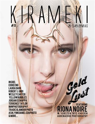 Kirameki Mag issue 15 GOLD LUST (Riona Noire cover)