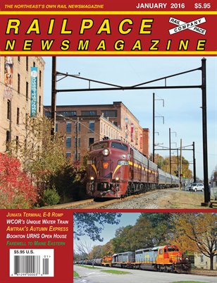 January 2016 Railpace Newsmagazine