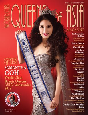 World Class Queens of Asia Magazine Issue 1 with Samantha Goh