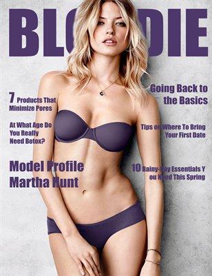 Blondie Magazine - May 2015