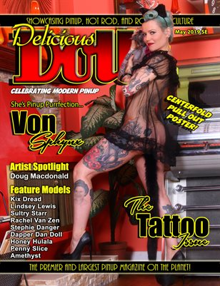 May 2019 Tattoo Issue Von Sphynx Cover