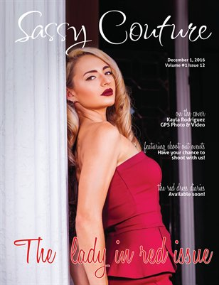 Sassy Couture Magazine Volume #1 Issue Twelve