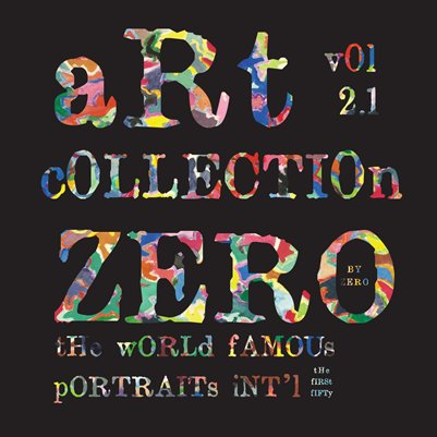 Art Collection ZERO Vol 2.1 The World Famous Portraits Int'l The First Fifty