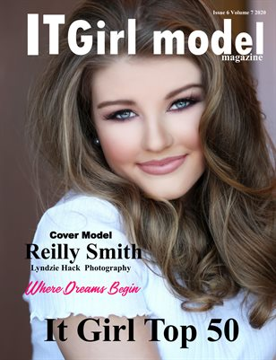 It Girl Model Magazine Issue 6 Volume 7 2020