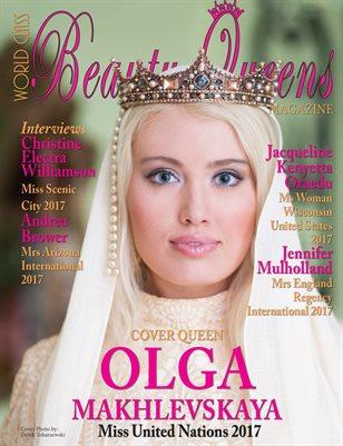 World Class Beauty Queens Magazine with Olga Makhlevskaya
