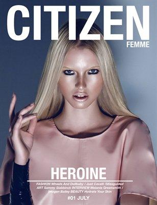 CITIZEN FEMME 01 (FEARLESS COVER)