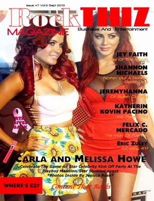 Rock Thiz Magazine Sept Issue