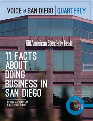 Voice of San Diego | Quarterly • Fall 2014