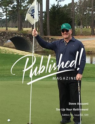 PUBLISHED! #15 Excerpt featuring Steve Anzuoni!