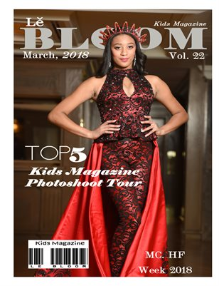 Le Bloom Kids Magazine Vol. 22 Red