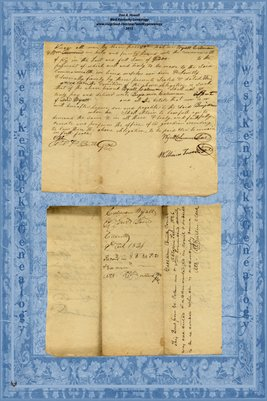 1826 Gallatin County, Kentucky  Performance Bond of  Wyatt Coleman, guardian of Benjamin Coleman
