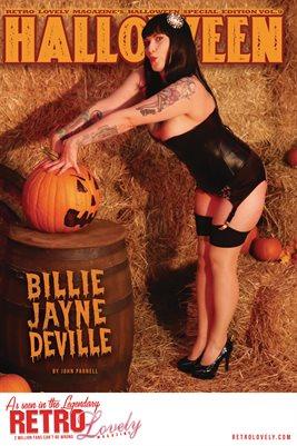 Halloween 2021 Vol.9 – Billie Jayne DeVille Cover Poster