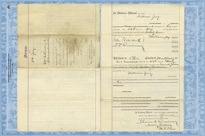 1877 Mortgage, Jay to Howard, Miami County, Ohio