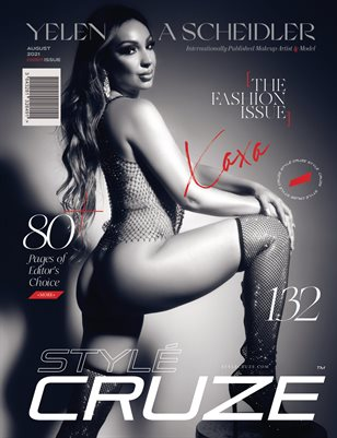 AUGUST 2021 Issue (Vol: 132) | STYLÉCRUZE Magazine