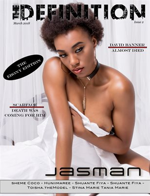 The Definition: TheEbony Edition: Jasmane cover March 2018
