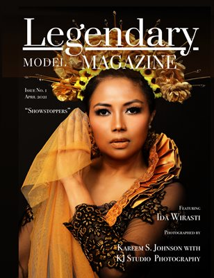Issue No. 1 - Showstoppers - Legendary Model Magazine
