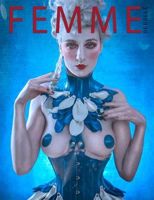 Femme Rebelle Magazine DECEMBER 2017 - BOOK 2 -Sanne van Bergenhenegouwen  Cover
