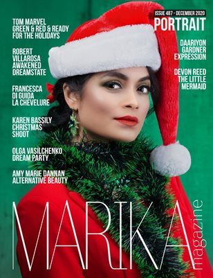 MARIKA MAGAZINE PORTRAIT (DECEMBER-ISSUE 487)