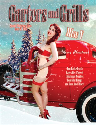Miss V Sexy Hot Rod Christmas