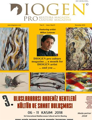 DIOGEN pro culture magazine No 91, November 2018