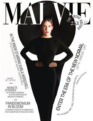 MALVIE Magazine The Artist Edition Vol 253 July 2021