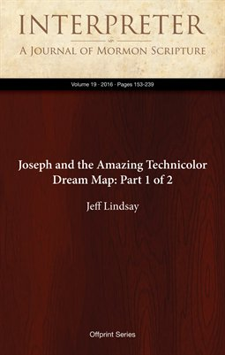 Joseph and the Amazing Technicolor Dream Map: Part 1 of 2