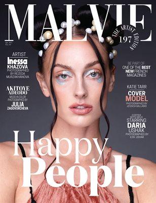 MALVIE Magazine The Artist Edition Vol 197 April 2021