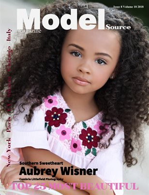 Model Source magazine Issue 8 Volume 10 2018 Top 25 Most Beautiful