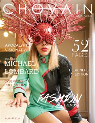 CHOVAIN Magazine - DESIGNERS Edition | ISSUE 03 COVER 1 | AUGUST 2020