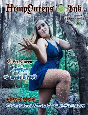 HempQueens Ink. Magazine ~ Halloweed Issue 19.1 ~ Evaleine