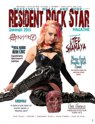 #05 Summer 2015 Resident Rock Star Magazine
