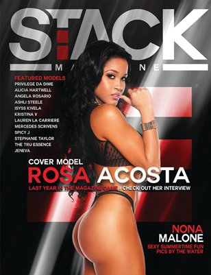 Stack Models Magazine Issue 3 Rosa Acosta Cover
