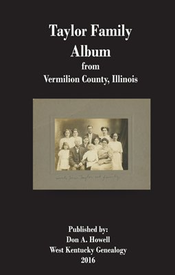 Taylor Family Album, from Vermilion County, Illinois