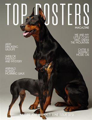 TOP POSTERS MAGAZINE- NATURE AND ANIMALS JUNE (vol 373)