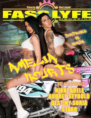 Fast Lyfe Magazine issue 19 Ft kourts & Amelia
