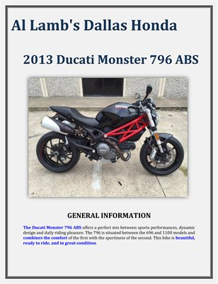 Al lamb 39 s dallas honda 2013 ducati magcloud for Al lamb honda