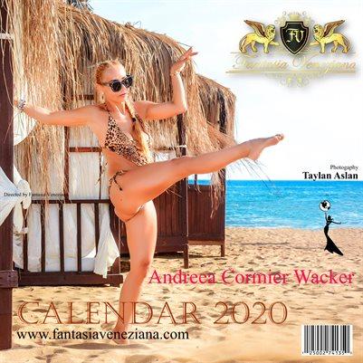 Fantasia Veneziana Ms. International Super Model Calendar 2020