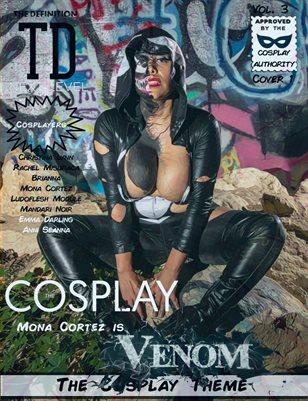 TDM Cosplay Vol.3 Mona Cortez Cover1
