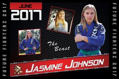 Jasmine Johnson Cal Poster 2017
