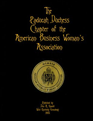 The Paducah Duchess Chapter of the American Business Woman's Association
