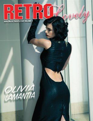 HARLOW Retrospective Vol 1. - Olivia Lamantia Cover