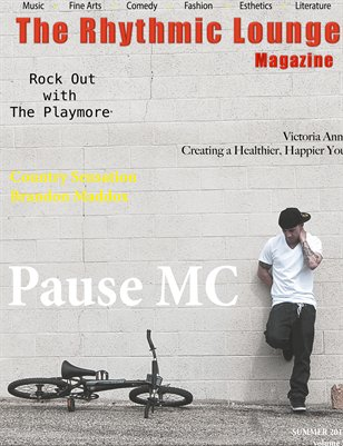 The Rhythmic Lounge Magazine Summer 2013